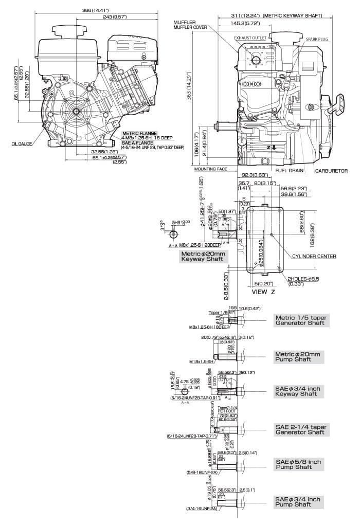 Ex21 Small Ohc Engine Technical Information Subaru