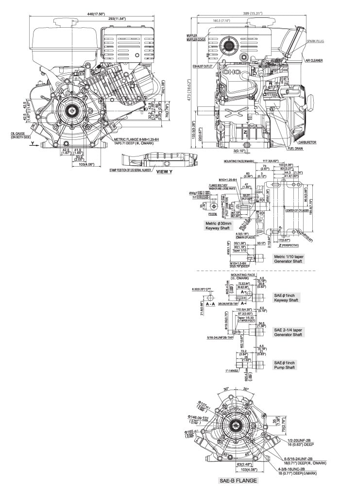 Ex40 Small Ohc Engine Technical Information