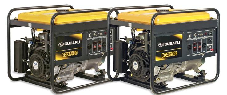 Subaru RGX Industrial Generators